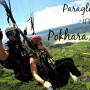 Paragliding in Pokhara, Nepal Video