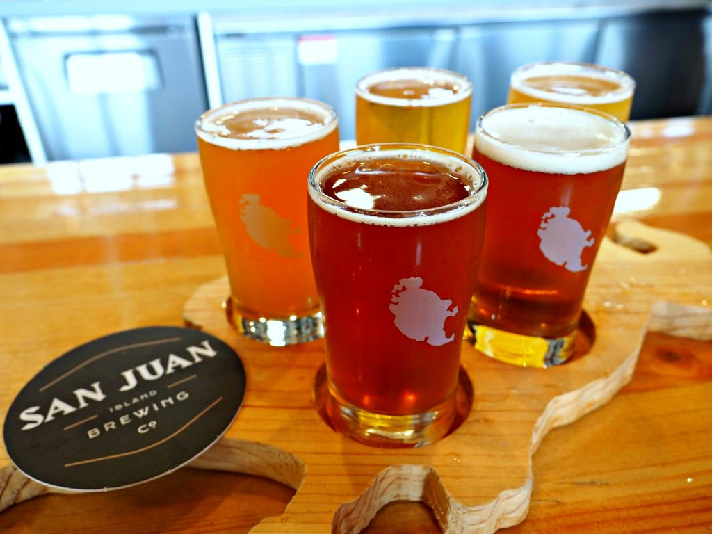 san juan island, san juan islands, brewery on san juan island, washington, friday harbor