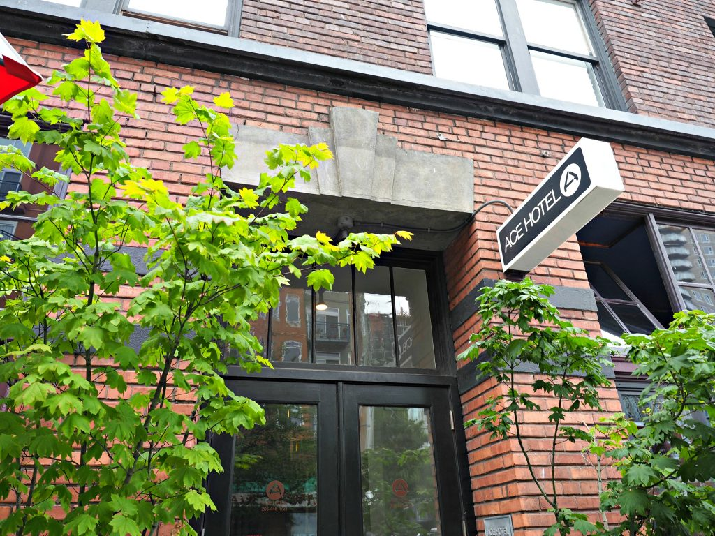 ace hotel, seattle, where to stay in seattle, best spot to stay in seatte, seattle city guide, hipster spots in seattle