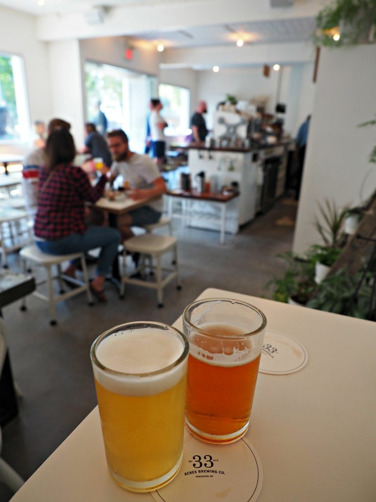 Vancouver, what to do in Vancouver, Vancouver city guide, what to do in BC, 33 acres brewery
